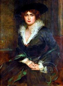 Pavle_Paja_Jovanovic_-_Umetnikova_supruga_Muni_1925